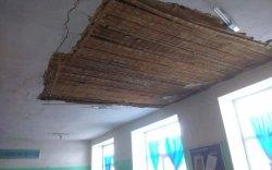 Говь-Алтайд дунд сургуулийн тааз нуржээ