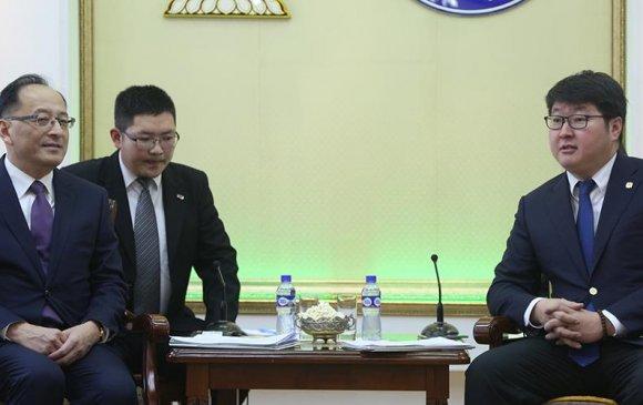 Тяньжин хотын төлөөлөгчдийг хүлээн авч уулзлаа