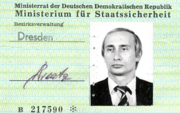 Путины тагнуулчийн үнэмлэх Германы архиваас олджээ