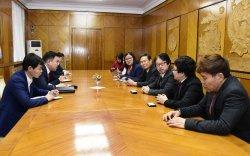 Н.Учрал Японы блокчейн технологийн хөгжлийн нийгэмлэгийн төлөөлөгчдийг хүлээн авч уулзлаа