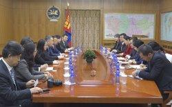 БНХАУ-ын Зах зээлийг хянан зохицуулах газрын даргыг хүлээн авч уулзав
