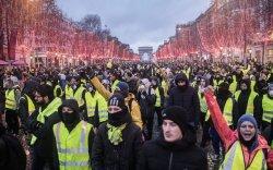 Францын ард иргэд зургаа дахь долоо хоногтоо жагслаа