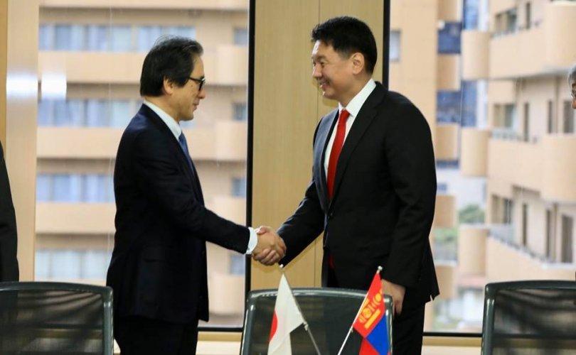 У.Хүрэлсүх: Япон технологийг Монголд нутагшуулна