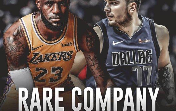NBA эргэн тойронд: Дончич Лебронтой эн зэрэгцэв