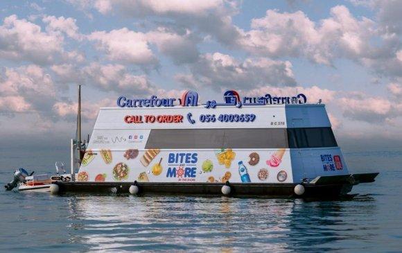 Дубайд анхны хөвдөг супермаркет нээгджээ