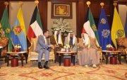 Гадаад харилцааны сайд Кувейтийн төр, засгийн тэргүүн нарт бараалхав
