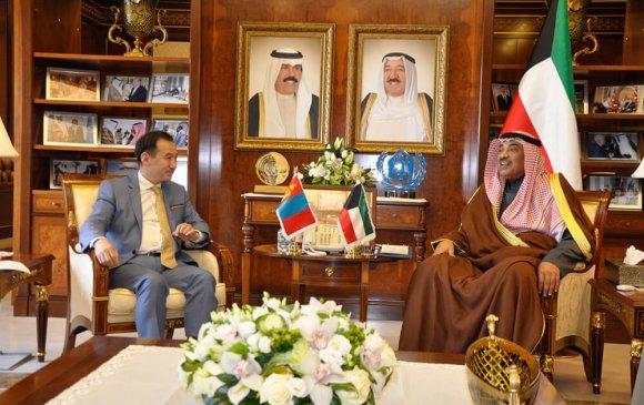 Д.Цогтбаатар Кувейт улсад албан ёсны айлчлал хийв