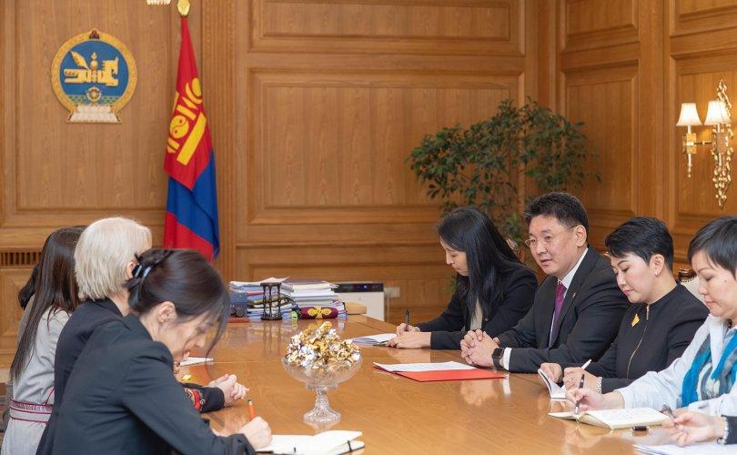 Ерөнхий сайд НҮБ-ын Хүн амын сангийн суурин төлөөлөгчийг хүлээн авч уулзав