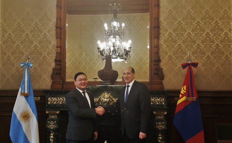 Монгол, Аргентины ГХЯ-д хоорондын зөвлөлдөх уулзалт болов