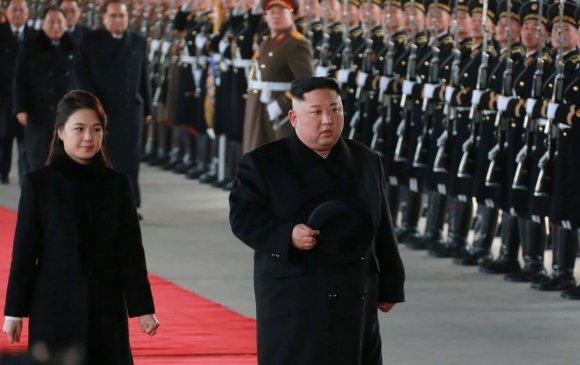 Ким Жон Ун Хятадад айлчилж байна