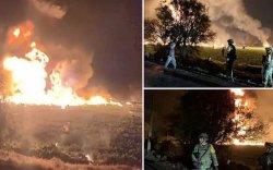 Мексикт хийн хоолой дэлбэрсний улмаас 66 хүн нас баржээ