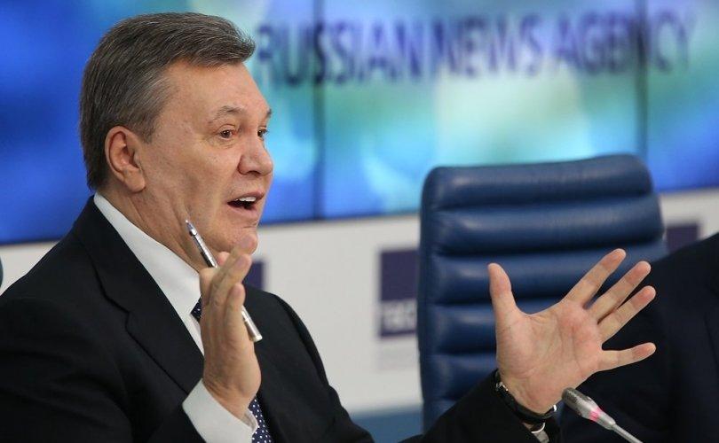 Виктор Януковичид 13 жилийн ял оноожээ