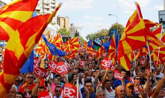 Македон улс нэрээ өөрчиллөө