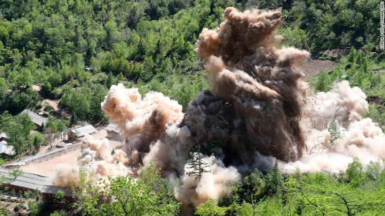 Цөмийн туршилтаас үүдэлтэйгээр газар хөдөлсөөр байна