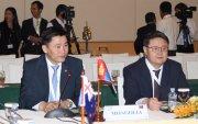 Ази, Номхон далайн орнуудын парламентын чуулганы 27 дугаар хуралдаанд оролцож байна