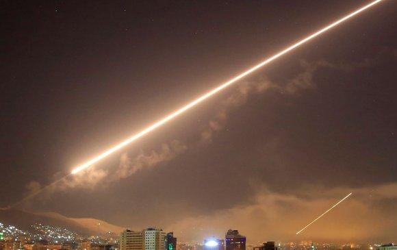 Израил Сирид агаарын цохилт өгчээ