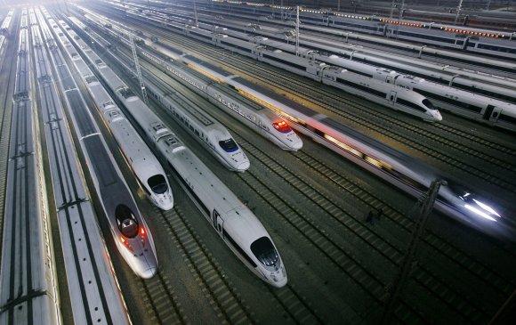 Хятад улс 2020 он гэхэд 30 мянган км галт тэрэгний замтай болно