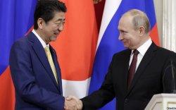 Путин, Абэ нарын уулзалтаар энхийн гэрээг хойшлуулав
