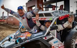 Дакар Ралли: Монголын баг түүхэн амжилт үзүүлэв