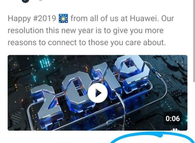 """""""Huawei"""" компани """"Iphone"""" утаснаас шинэ жилийн мэндчилгээ илгээжээ"""