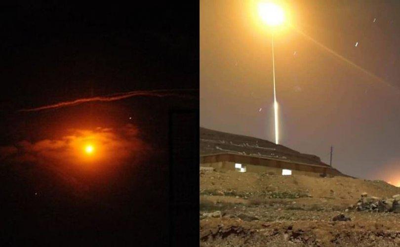 Сири дэх Ираны цэргийн байрлалд Израиль цохилт өгчээ