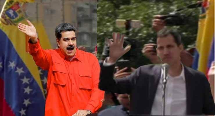 Венесуэль: Хоёр Ерөнхийлөгч, Хоёр Засгийн газар