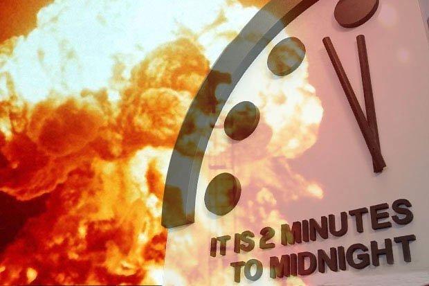 """""""Мөхлийн цаг""""-аар дэлхий сөнөхөд хоёр минут дутуу байна"""
