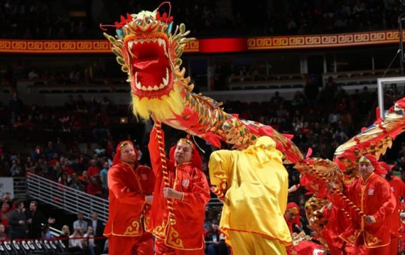 NBA Хятадын цагаан сард зориулж тусгай хөтөлбөр явуулна
