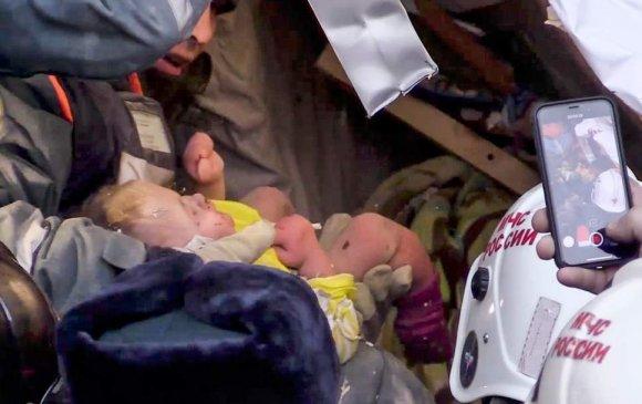 Нуранги дор 35 цагийг өнгөрөөсөн 11 сартай хүүг аварчээ