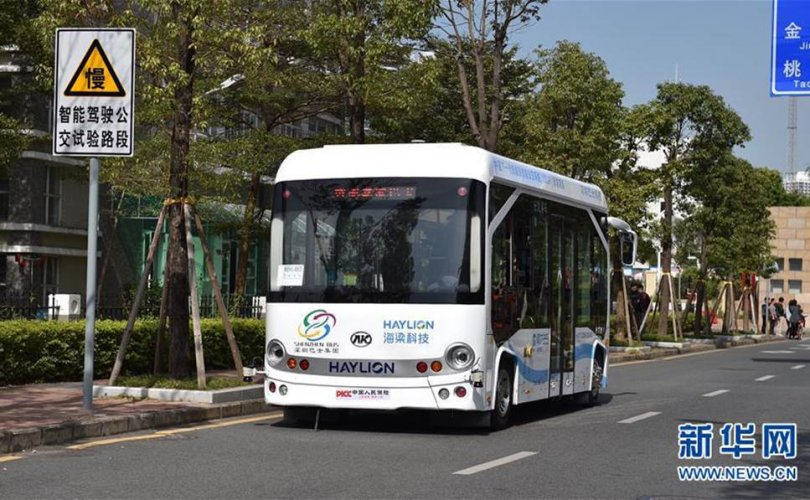 Бээжин хот жолоочгүй автобустай болно