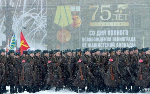Ленинградын бүслэлт дууссаны 75 жилийн ойг тэмдэглэж байна