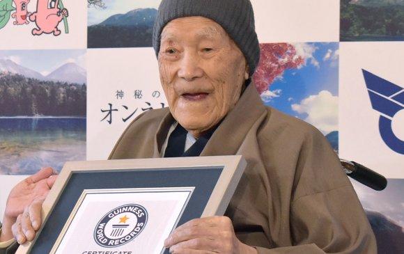Дэлхийн хамгийн өндөр настан таалал төгслөө