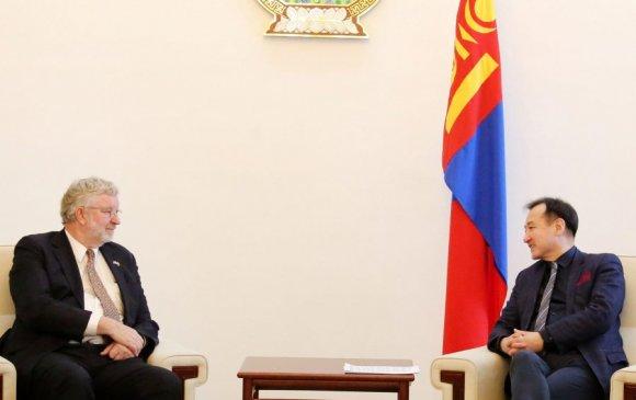Австрали улсаас Монгол Улсад суугаа Элчин сайдыг хүлээн авч уулзав