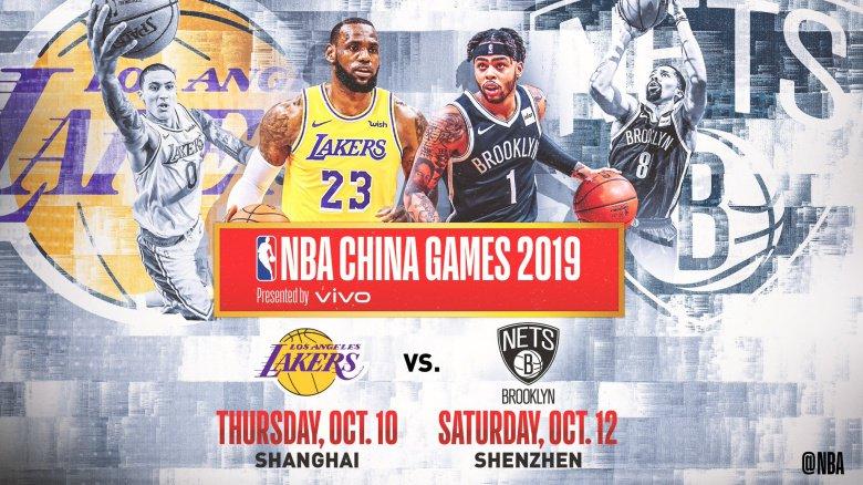 Лос-Анжелес Лейкерс болон Брүүклин Нэтс багууд Хятадад тоглоно
