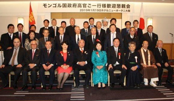 Япон Улсын Осака, Кобе хотод албан айлчлал хийлээ
