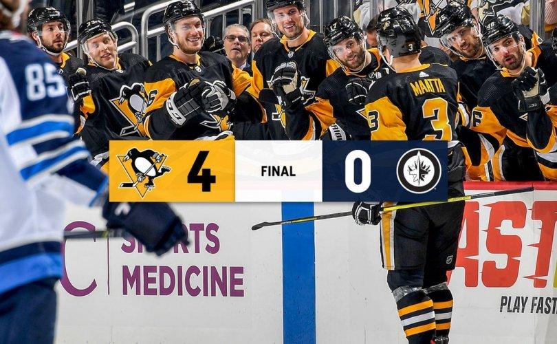 Питтсбург Пингвинсчүүд найм дахь хожлоо авав
