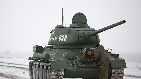 30 ширхэг Т-34 танкийг Лаосоос Орост авчирчээ