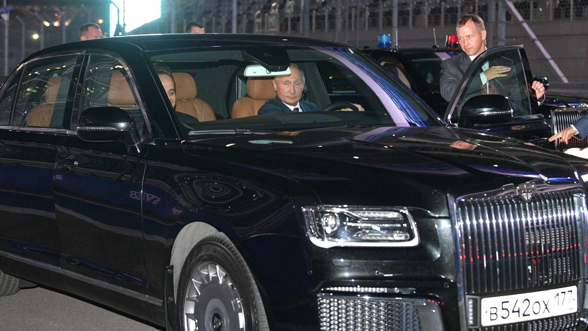 В.Путины машиныг хэрхэн хийснийг харуулжээ | News.MN
