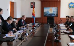"""""""Монгол Улсын зэвсэгт хүчинтэй хамтран ажиллахад сайхан байдаг"""""""