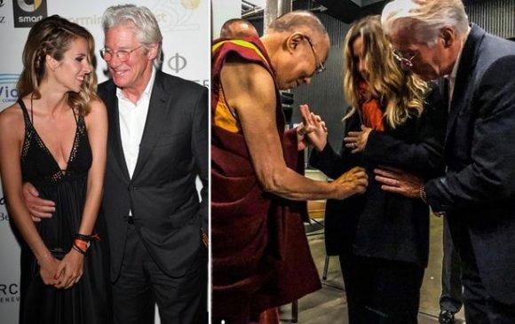 69 настай Ричард Гир дахин аав боллоо