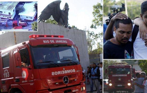 Гал түймэрт Бразилын арван хөлбөмбөгчин амиа алджээ