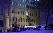 Санкт-Петербургт их сургуулийн барилгын давхрууд нуржээ