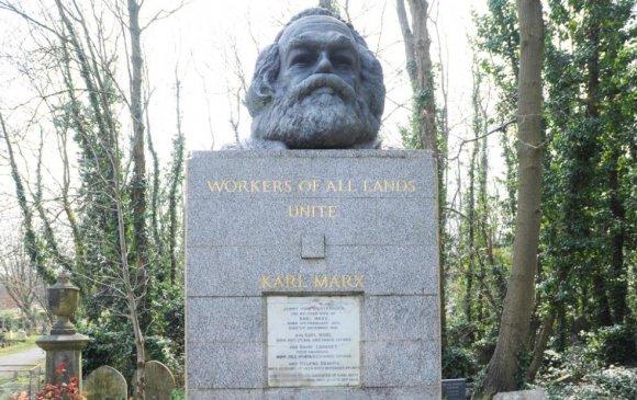 К.Марксын бунхныг сүйтгэжээ