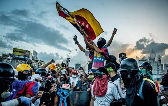 Венесуэлд Н.Мадурогийн эсрэг томоохон жагсаал өрнөв