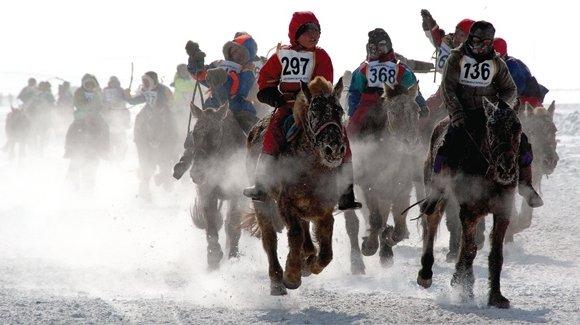 Хүйтний улиралд хүүхдээр хурдан морь унуулах нь хүчирхийллийн нэг хэлбэр