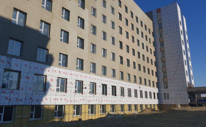 300 ортой төрөх эмнэлгийн барилгын ажил явагдаж байна