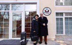 Монгол Улсад суух АНУ-ын Элчин сайд Улаанбаатарт иржээ