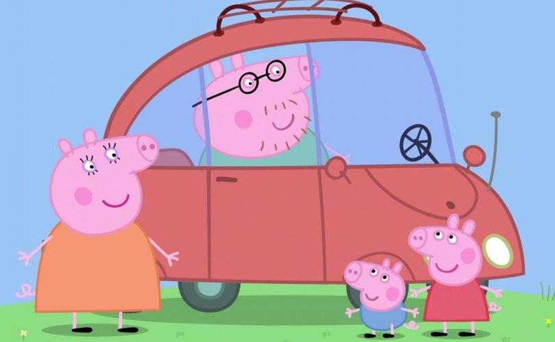 """""""Пеппа тоорой"""" хүүхэлдэйг үзсэн хүүхдүүд Британи аялгаар ярьдаг болж байна"""