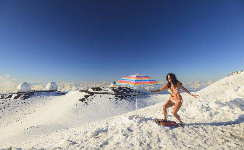 Хавайд цас оржээ