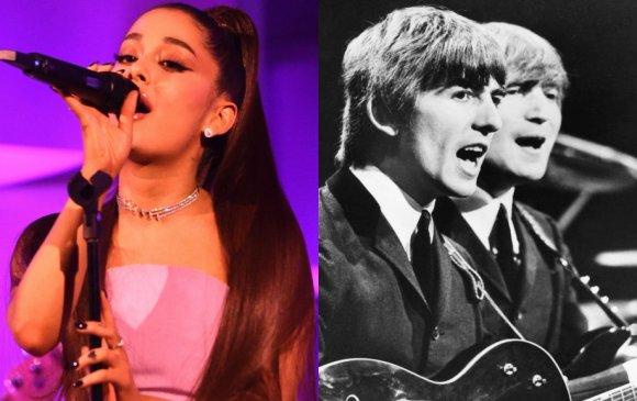 """Ариана Гранде """"Beatles""""-ийн амжилтыг давтжээ"""